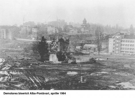 Demolarea+bisericii+Alba-Postavari+aprilie+1984_38896