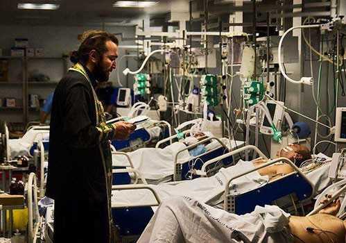 Pacienta l-a recunoscut în capela spitalului, identificându-l în ...